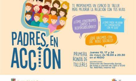 PADRES EN ACCIÓN: PRIMERA RONDA DE TALLERES