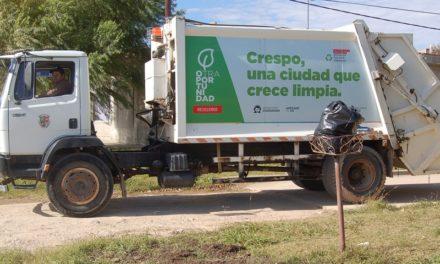 RECOLECCIÓN DE RESIDUOS DOMICILIARIOS POR EL FERIADO