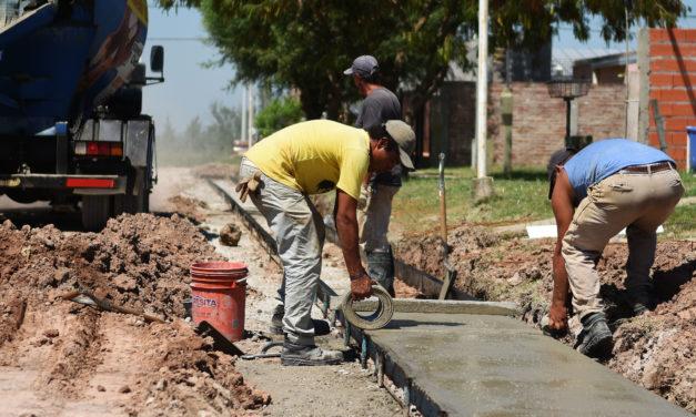 Seguimos trabajando con obras en todos los barrios