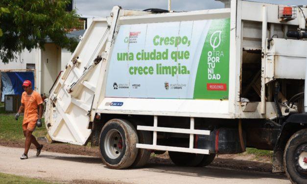 Residuos: Recolección normal durante el feriado