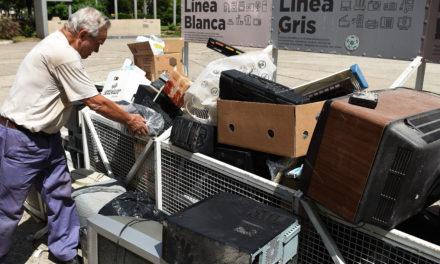 Seguimos con la recolección de residuos electrónicos