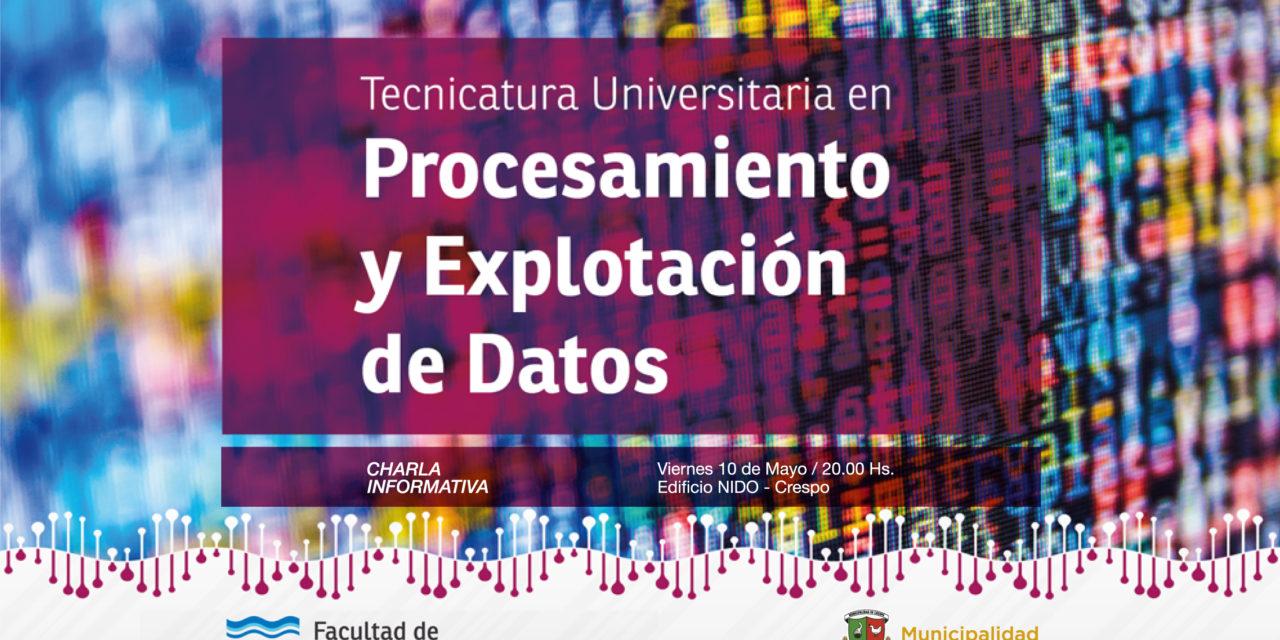 Tecnicatura Universitaria, única en el país, en Crespo