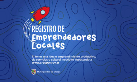 Inscribite en el Registro de Emprendedores Locales