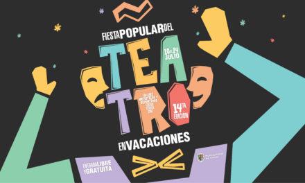 CARTELERA DE LA FIESTA POPULAR DEL TEATRO