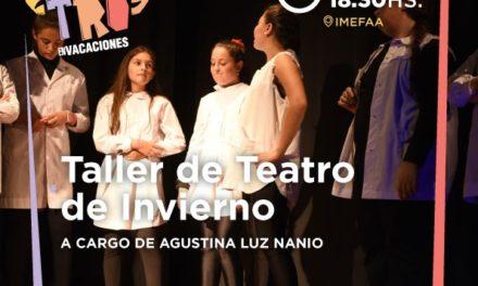 TALLER DE TEATRO DE INVIERNO PARA ADOLESCENTES