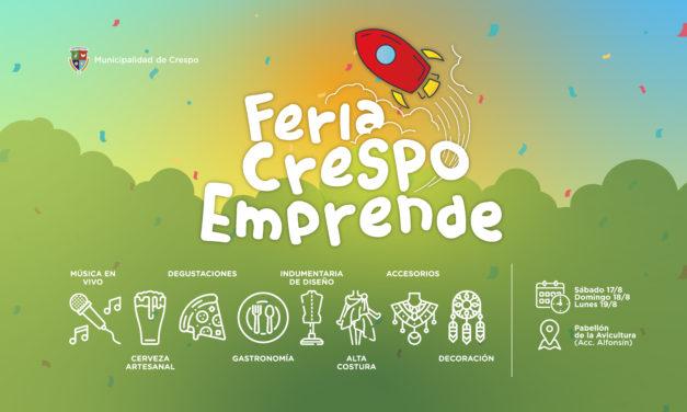 TRES DÍAS DE FERIA CRESPO EMPRENDE