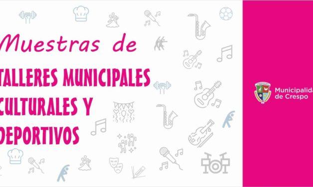 MUESTRAS DE LOS TALLERES INCLUSIVOS CULTURALES Y DEPORTIVOS 2019
