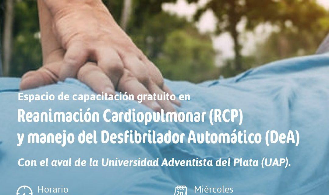 CAPACITACIONES ABIERTAS A TODA LA COMUNIDAD, EN TÉCNICAS DE RCP Y MANEJO DEL DEA