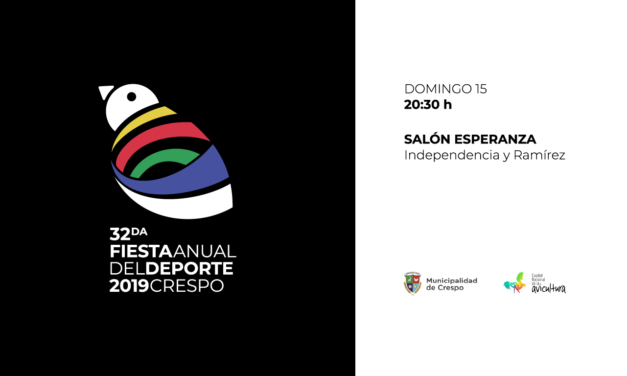 FIESTA DEL DEPORTE 2019: DISTINCIÓN A LOS DESTACADOS