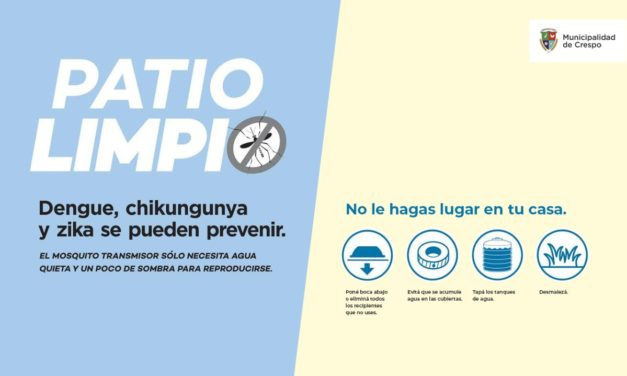 SUMATE A PATIO LIMPIO