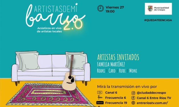 #QuedateEnCasa: Hoy acústico de la familia Martínez
