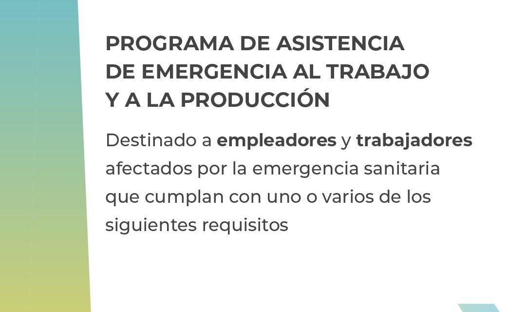 PROGRAMA DE ASISTENCIA DE EMERGENCIA AL TRABAJO Y A LA PRODUCCIÓN
