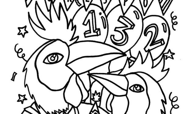 #CumpleañosCrespo132 pinta el aniversario