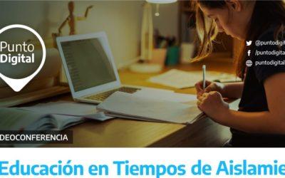EDUCACIÓN EN TIEMPOS DE AISLAMIENTO