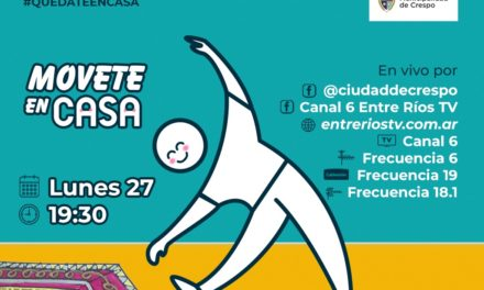MOVETE EN CASA