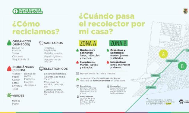 RECOLECCIÓN DE RESIDUOS CON NORMALIDAD DURANTE EL LUNES FERIADO