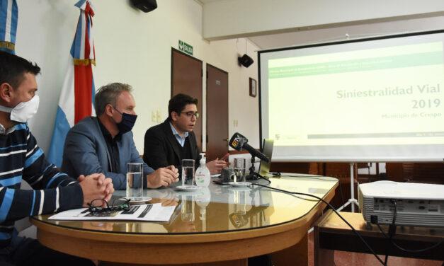 EL GOBIERNO MUNICIPAL PRESENTÓ EL INFORME ESTADÍSTICO DE SINIESTRALIDAD VIAL