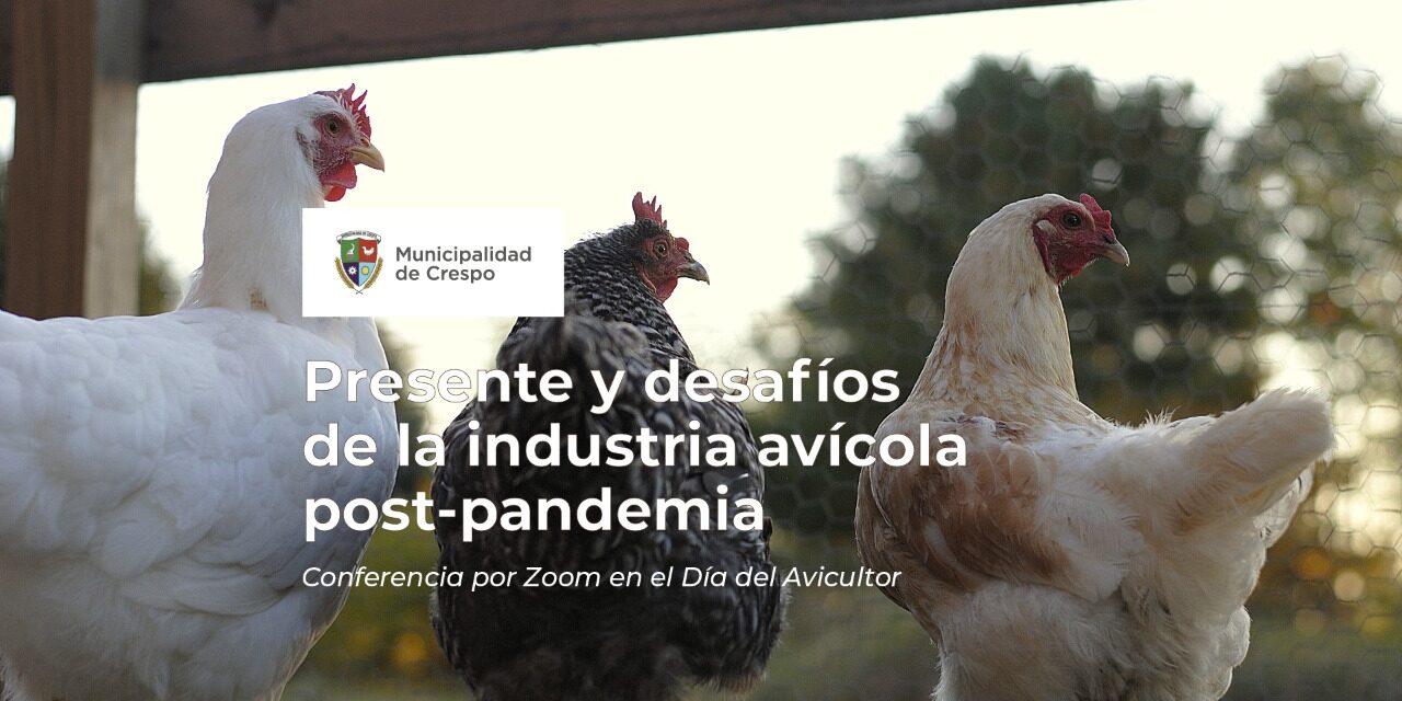 EL MUNICIPIO ORGANIZA UNA CONFERENCIA POR ZOOM SOBRE EL 'PRESENTE Y DESAFÍOS DE LA INDUSTRIA AVÍCOLA POST-PANDEMIA'