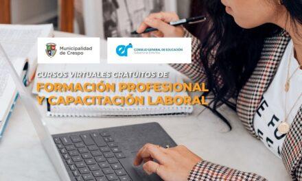 CURSOS DE FORMACIÓN PROFESIONAL Y CAPACITACIÓN LABORAL