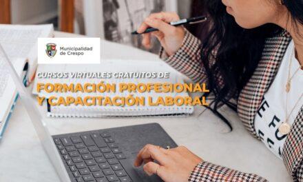PREINSCRIPCIONES PARA CURSOS VIRTUALES DE FORMACIÓN PROFESIONAL Y CAPACITACIÓN LABORAL