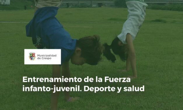 CHARLA POR ZOOM SOBRE EL ENTRENAMIENTO DE LA FUERZA INFANTO-JUVENIL: DEPORTE Y SALUD