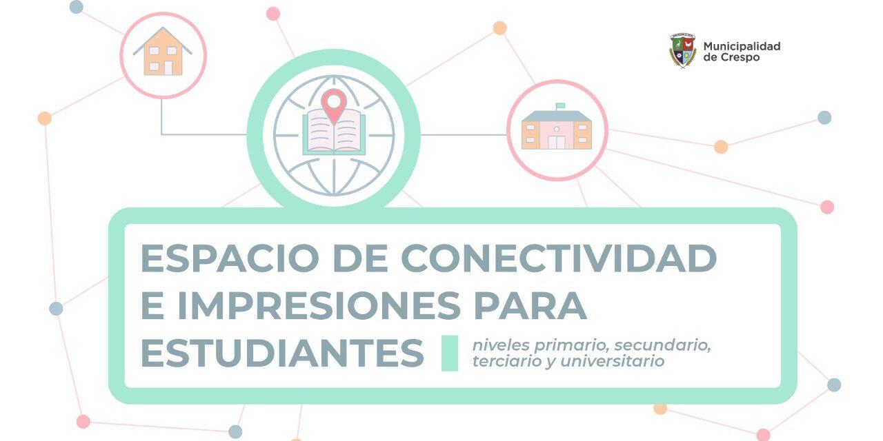 ESPACIO DE CONECTIVIDAD E IMPRESIONES PARA ESTUDIANTES
