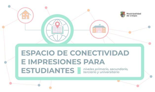 EL ESPACIO DE CONECTIVIDAD E IMPRESIONES PARA ESTUDIANTES REALIZÓ 4.000 ASISTENCIAS Y DIO APOYO A 102 FAMILIAS