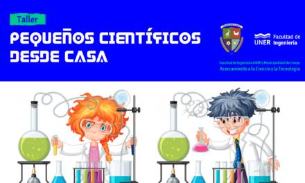 PEQUEÑOS CIENTÍFICOS DESDE CASA