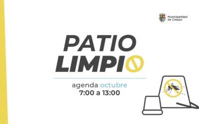 PATIO LIMPIO: BARRIO JARDÍN