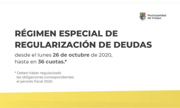 COMIENZA EL RÉGIMEN ESPECIAL DE REGULARIZACIÓN DE DEUDAS PARA LOS CONTRIBUYENTES