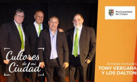 CICLO CULTORES DE MI CIUDAD: 'TONY' VERGARA Y LOS DALTON INTERPRETARÁN LA MEJOR MÚSICA POPULAR DEL RECUERDO