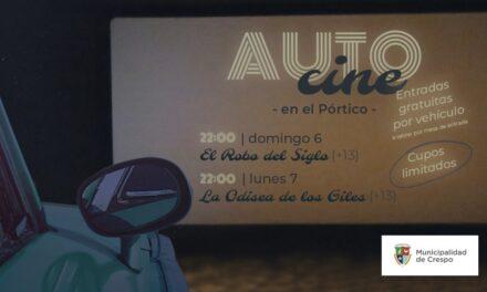 AUTOCINE EN EL PÓRTICO