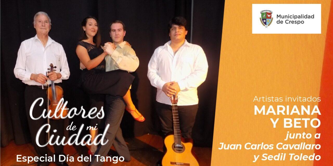 CICLO CULTORES DE MI CIUDAD: ESPECIAL 'DÍA NACIONAL DEL TANGO'