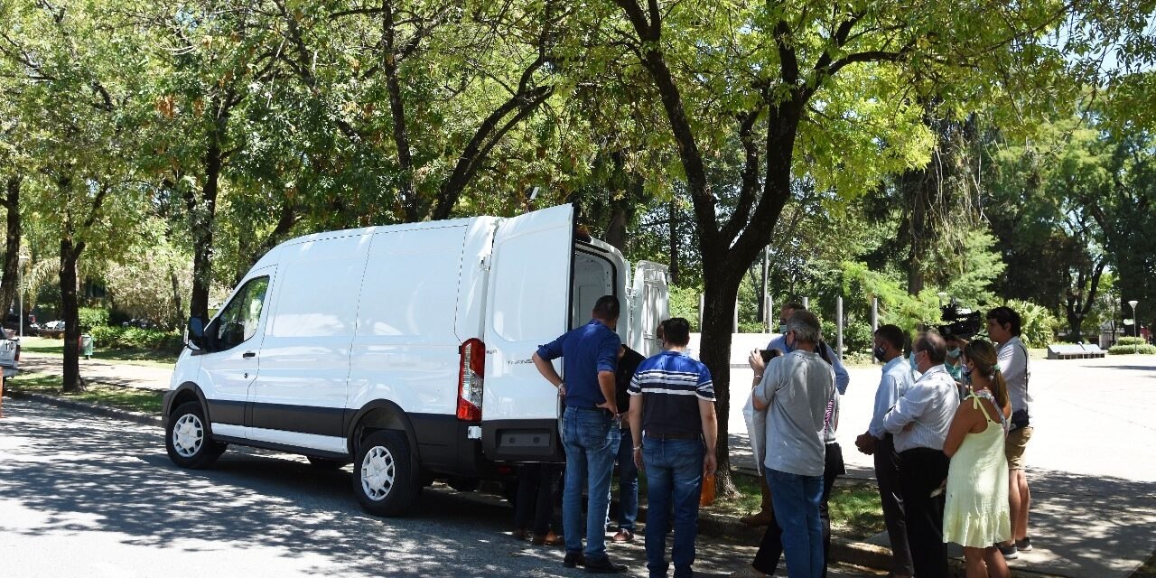 LLEGÓ LA AMBULANCIA COMPRADA CON EL FONDO DE EMERGENCIAS COVID-19