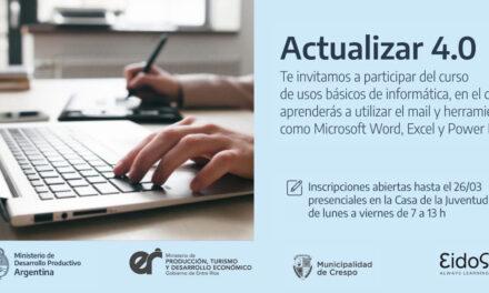 PROGRAMA DE FORMACIÓN ACTUALIZAR 4.0