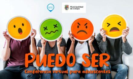 'PUEDO SER': CONFERENCIA PARA ADOLESCENTES