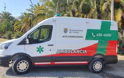 FUE EQUIPADA LA AMBULANCIA DE ALTA COMPLEJIDAD COMPRADA CON EL FONDO DE EMERGENCIAS COVID-19